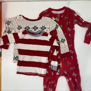 Toddler holiday pj bundle burts bees